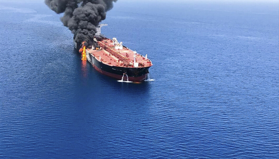 Iran Persian Gulf Tensions Foto: AP Photo/ISNA